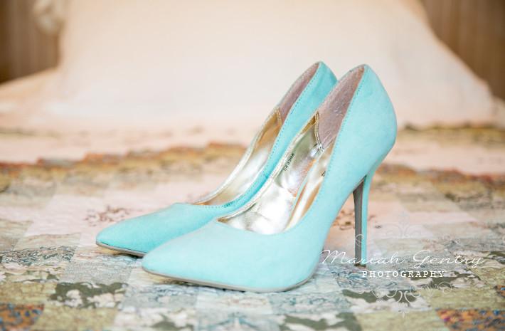 Beau Lodge Wedding Washington Wedding Teal Blue Shoes Mariah Gentry Photography