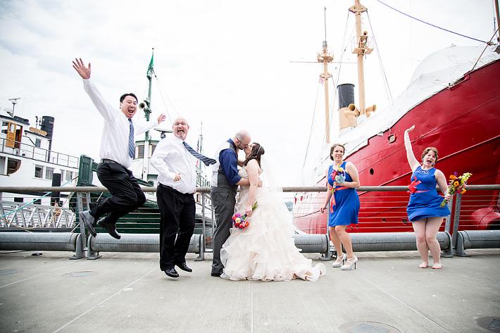 Mariah Gentry Photography Wedding Seattle Argosy Cruise Ships