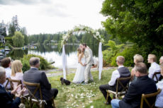 Private Lake House Wedding Mariah Gentry Photography