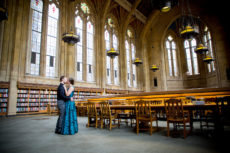 Mariah Gentry Photography Engagement Session at the Suzzallo Library in Seattle