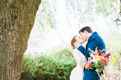 Lake Ballinger Wedding - Seattle Colorful Wedding - Mariah Gentry Photography