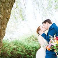 Lake Ballinger Wedding - Seattle Colorful Wedding - Mariah Gentry Photography